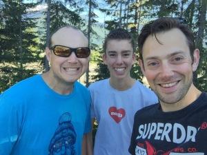 My mentors, from left to right: Matt Brandt, Dave Hunt.